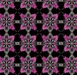 KANVAS STUDIO - Blooming Beauty - Majestic Medallions - Black Violet
