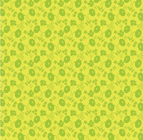 BENARTEX - Sew Excited - Floral Fun Green