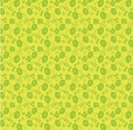 BENARTEX - Sew Excited - Floral Fun Green