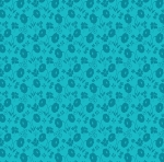 BENARTEX - Sew Excited - Floral Fun Turquoise