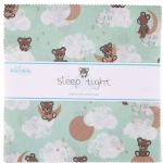 Riley Blake - Sleep Tight 10 inch Stacker 42 pcs