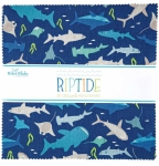 Riley Blake - Riptide 10 inch Stacker 42 pcs