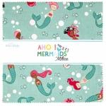 Riley Blake - Ahoy Mermaids 10 inch Stacker 42 pcs