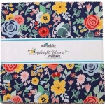 Riley Blake -  Midnight  Blooms 10 inch Stacker