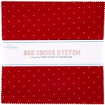 Riley Blake - Bee Cross Stitch 10 inch Stacker 42 pcs