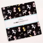 Riley Blake - Meow and Forever 10 Inch Stacker 42pcs