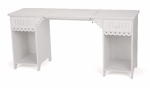Arrow Olivia Sewing Cabinet - White Drop Ship