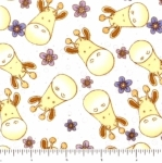 FABRI-QUILT, INC - Baby Coord - Giraffe Family - FB6139-