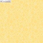 BENARTEX - Lilyanne - Circles Yellow - Pearlized