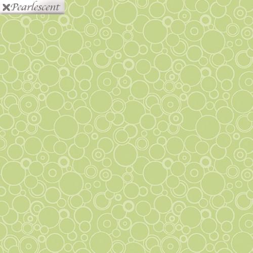 BENARTEX - Lilyanne - Circles Green - Pearlized