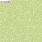 BENARTEX - Lilyanne - Circles Green - Pearlized
