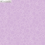 BENARTEX - Lilyanne - Circles Purple - Pearlized