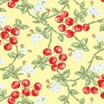 BENARTEX - Garden Party By Eleanor Burns - Wild Cherries - Butter