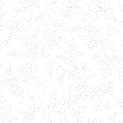 BENARTEX - Garden Party By Eleanor Burns - Queen Annes Lace - White