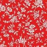 BENARTEX - Garden Party By Eleanor Burns - Queen Annes Lace - Red