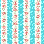 BENARTEX - Garden Party By Eleanor Burns - Lacewing - Teal