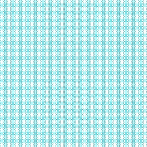 BENARTEX - Garden Party By Eleanor Burns - Square Dance - Blue