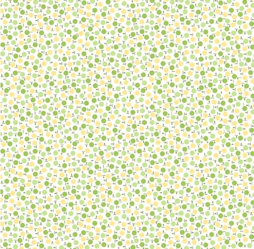 BENARTEX - Garden Party By Eleanor Burns - Lollipops - Green