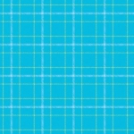 CONTEMPO - Warp and Weft II - Double Plaid - Aqua