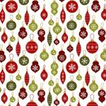 BENARTEX - A Jingle Bell Christmas - Painted Sky Studio - Crossroads Ornament - White - Multi