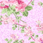 BENARTEX - Rose Whispers by Eleanor Burns - Pearlized - Rose Garden - Pink