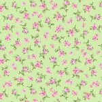 BENARTEX - Rose Whispers by Eleanor Burns - Rose Meadow - Green
