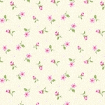 BENARTEX - Rose Whispers by Eleanor Burns - Pearlized - Rose Bud - Cream