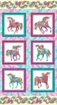 BENARTEX - Believe In Unicorns by Ann Lauer - Panel - Metallic - White Multi - PL552-