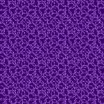 BENARTEX - Believe In Unicorns by Ann Lauer - Interlocking Rings - Dark Purple