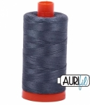 Aurifil Medium Grey 50 wt Cotton 1422 yd