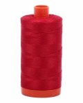 Aurifil Red 50 wt Cotton 1422 yd