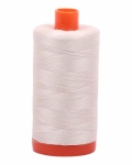 Aurifil Silver White 50 wt Cotton 1422 yd
