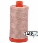 Aurifil Beige 50 wt Cotton 1422 yd