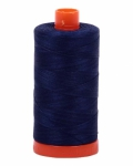 Aurifil Dark Navy 50 wt Cotton 1422 yd