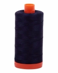 Aurifil Very Dark Navy 50 wt Cotton 1422 yd
