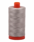 Aurifil Light Gray 50 wt Cotton 1422 yd