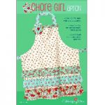 Cabbage Rose: Chore Girl Apron