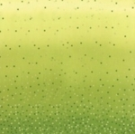 MODA FABRICS - Ombre Confetti Metallic - Lime Green