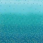 MODA FABRICS - Ombre Confetti Metallic - Turquoise