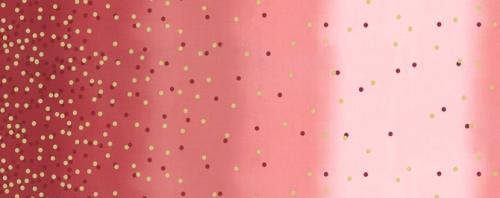 MODA FABRICS - Ombre Confetti New - Cranberry - Pink
