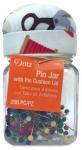 Dritz Pin Jar with Notions Pin Cushion Lid