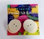 Round Felt Buttons 1.375 inch (4pc)