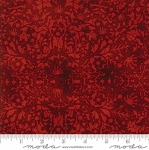 MODA FABRICS - Winter Village Red