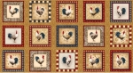 FABRI-QUILT, INC - Rooster Inn - PANEL - PL1