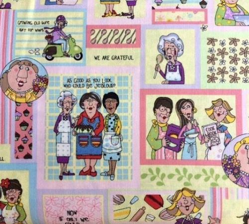 FABRI-QUILT, INC - Church Kitchen Ladies - Patch - #2190-