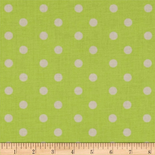 FABRI-QUILT, INC - Eggcellent Adventure Dots - Green #691-