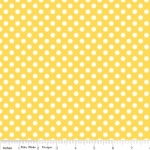 FABRI-QUILT, INC - Eggcellent Adventure Dots - Yellow #726-