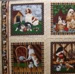 FABRI-QUILT, INC - 4 Paws Dog Panel  FB2572