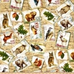 FABRI-QUILT, INC - Fall Retreat Postcards  FB1477