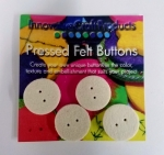 Round Felt Buttons 1 inch (4pc)